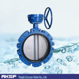 API Di/Ci/Csw/Ss/Bronze Worm Gear 또는 Handle/Pneumatic/Electric Concentric Lugged Butterfly Valve