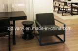 Singolo sofà di stile del tessuto europeo del salone (D-81)