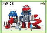 Roboter-im Freienspielplatz-Serie für Plättchen und das Klettern
