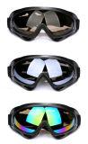 Verres antipoussière de neige en verre de lunettes protégeant du vent extérieures de ski