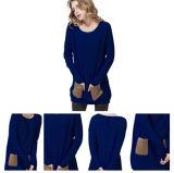 Maglione delle donne con due caselle