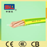 H07V-R PVC Grounding Wire 25mm2 Green/Yellow Cable