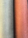 Cuoio superiore di Lichee Microfiber di vendita, cuoio sintetico per i sacchetti dei pattini
