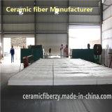 Couverture de fibre en céramique pour le four de chauffage