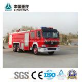 Carro profesional de la lucha de fuego del agua de la espuma del coche de bomberos de Volvo de la fuente del tanque 20m3