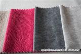 Tissu décoratif de sofa de tissu de mur de polyester chaud de vente