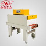 Máquina de embalagem Shrinking pequena com a fornalha do fogão para o enrolamento automático rápido que envolve o empacotamento para o equipamento elétrico da prancha de aço