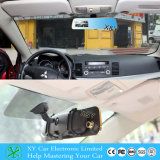 Carro DVR do espelho de Rearview de 4.3 polegadas, espelho DVR da parte traseira do carro da tela de 800*480 Digitas, carro duplo DVR da lente