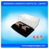 Cufflinks заливки формы продают Cufflinks оптом золота навальные с коробкой подарка