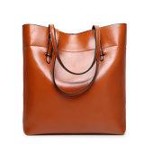 Signora di cuoio casuale Woman Tote Handbag dello stilista dell'unità di elaborazione del sacchetto di spalla