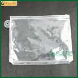 Sac transparent imperméable à l'eau de toilette de sac à provisions de PVC de plastique (TP-OB053)