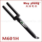 M602h Unique&Classicalの二重バレルLEDの陶磁器の毛のヘアアイロン