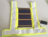 Gilet de vie r3fléchissant d'énergie solaire