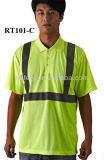 Polyester Cotton Mixed Short/Long Sleeve Reflective Work Safety Shirt