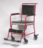 Commode en acier Chair, avec Comfortable Seat, Easy to Use pour Old People (YJ-7100B)