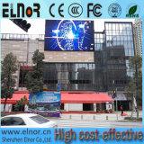 Pantalla al aire libre del balompié LED de la consumición P10 de las energías bajas
