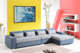 Wohnzimmer Furniture Leisure Fabric Sofa Bed mit Storage
