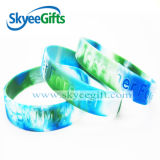Impression Hot Sell Yellow Silicone Bracelets a