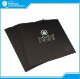 Großhandelsdrucken-Kunstdruckpapier, das dreifachgefaltete Broschüre bekanntmacht
