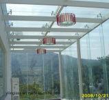Vidrio laminado templado talla grande con el modelo del color