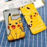 La caja del teléfono móvil de TPU con relieve Pintura Pokemon Go