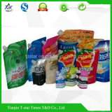 Lamelliertes Plastic Packaging Bag mit Spout