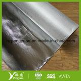 Papel de aluminio incombustible de la fibra de vidrio del aislante para las lanas de roca de las lanas de cristal