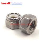 Constructeur en nylon Hex de noix de garniture intérieure de la vente 2016 de fournisseur chaud de la Chine