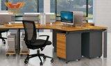 새로운 디자인 현대 6개의 사람 시트 사무실 워크 스테이션 책상 (H50-0202)