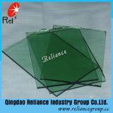 Vidrio de flotador verde verde oscuro/francés/vidrio teñido