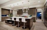 Bauvorhaben-befestigte Küche-Schränke mit flachem Pakage