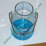 Cubeta desobstruída transparente 25liter do leite da máquina de ordenha