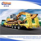 Hightech 3 Wellen 60 Tonnen Flachbett-halb LKW-Schlussteil-