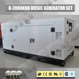 50Hz Geluiddichte Diesel die 60kVA Generator door Perkins wordt aangedreven (SDG60PS)