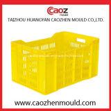 Moulage/moulage en plastique de vente chauds de caisse de banane d'injection