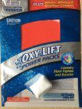 O OEM 4 em 1 potência da luta da mancha, Oxigênio-Levanta o malote do detergente do pó