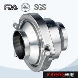 Tri valvola di ritenuta igienica premuta dell'acciaio inossidabile (JN-NRV1002)