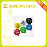13.56MHz kundenspezifische Größe RFID Epoxid-Belüftung-Marke