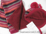 Neue 100% Acrylkinder strickten Winter eingestelltes Scarf&Hat&Gloves (PTKH15005)