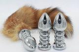 Оптовая продажа штепсельной вилки приклада металла игрушек секса заднепроходной Jewelled штепсельной вилкой