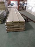Indonesia&UKにエクスポートされる、耐火性の建築材料の岩綿サンドイッチパネル