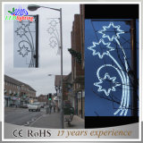 Luz maravillosa de la cadena de la decoración LED del jardín de la calle de la Navidad del festival que cae