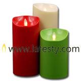 Openlucht Elektrische LEIDENE zonder vlammen van de Kleur Lichte Kaars (LUD)