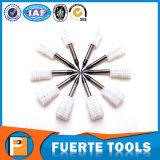 As flautas do carboneto de tungstênio 2 esquadram o moinho de extremidade 0.5mm