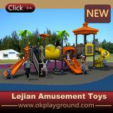 CE niños Amazing Juega plástico al aire libre Zona de juegos para Park (12045A)