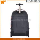 Затавренное перемещение багажа компьтер-книжки школы кладет Backpack в мешки с колесами вагонетки