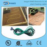 Водоустойчивый провод электрической жары PVC для кабеля топления завода