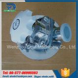 Válvula de diafragma apertada higiênica do aço inoxidável