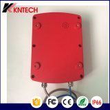 Teléfono de emergencia al aire libre impermeable para el túnel Kntech Knsp-18