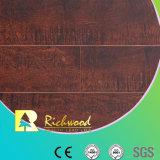 el olmo grabado HDF E1 de 8.3m m V-Grooved impermeabiliza el suelo laminado
